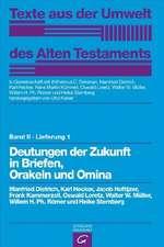Religiöse Texte. Deutungen der Zukunft in Briefen, Orakeln und Omina