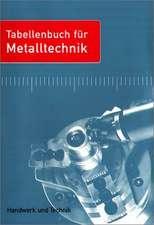 Tabellenbuch für Metalltechnik - mit DVD