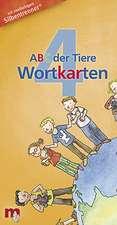 ABC der Tiere 4 - Wortkarten in 5-Fächer-Lernbox