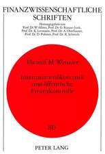 Institutionenoekonomik Und Oeffentliche Finanzkontrolle