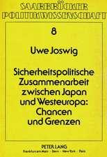Sicherheitspolitische Zusammenarbeit Zwischen Japan Und Westeuropa