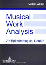 Musical Work Analysis