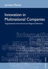 Innovation in Multinational Companies