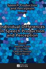 Individual Differences in Speech Production and Perception