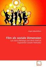 Film als soziale Dimension