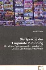 Die Sprache des Corporate Publishing