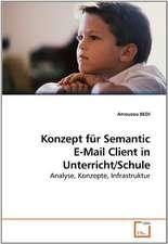 Konzept für Semantic E-Mail Client in Unterricht/Schule