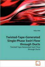 Twisted-Tape-Generated Single-Phase Swirl Flow through Ducts