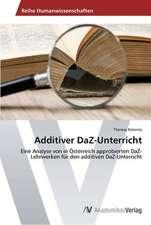 Additiver DaZ-Unterricht