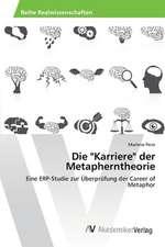 """Die """"Karriere"""" der Metapherntheorie"""