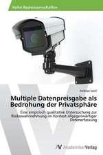 Multiple Datenpreisgabe als Bedrohung der Privatsphäre