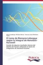 El Lema de Riemann-Lebesgue Segun La Integral de Henstock-Kurzweil