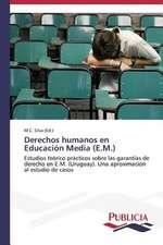 Derechos Humanos En Educacion Media (E.M.):  Normativa y Ensayos de Estanqueidad