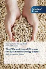The Efficient Use of Biomass for Sustainable Energy Sector