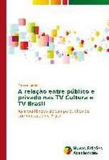 A Relacao Entre Publico E Privado NAS TV Cultura E TV Brasil:  Legko I Radostno