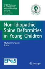 Non-Idiopathic Spine Deformities in Young Children