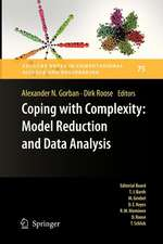 Coping with Complexity: Model Reduction and Data Analysis
