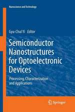 Semiconductor Nanostructures for Optoelectronic Devices: Processing, Characterization and Applications