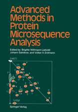 Advanced Methods in Protein Microsequence Analysis