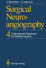 Surgical Neuroangiography: 4 Endovascular Treatment of Cerebral Lesions