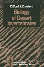 Biology of Desert Invertebrates