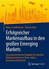 Erfolgreicher Markenaufbau in den großen Emerging Markets