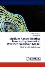 Medium Range Weather Forecast by Numerical Weather Prediction Model