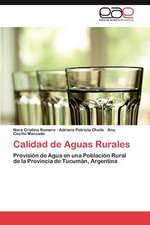 Calidad de Aguas Rurales