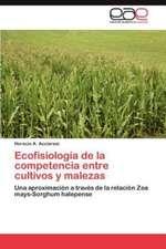Ecofisiologia de La Competencia Entre Cultivos y Malezas:  Vanguardia Intelectual