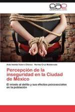 Percepcion de La Inseguridad En La Ciudad de Mexico:  Propiedades Microscopicas Mediante Parametros Empiricos