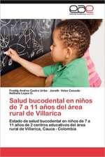 Salud Bucodental En Ninos de 7 a 11 Anos del Area Rural de Villarica:  Asfalto Verde