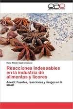 Reacciones Indeseables En La Industria de Alimentos y Licores:  Escritos Sobre Historia, Sociedad y Cultura