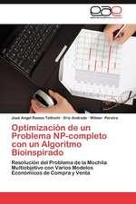 Optimizacion de Un Problema NP-Completo Con Un Algoritmo Bioinspirado:  Alumnos Con Necesidades Educativas Especiales