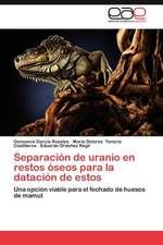 Separacion de Uranio En Restos Oseos Para La Datacion de Estos:  Luchas Feministas Barriales y Transnacionales