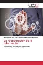 La Recuperacion de La Informacion