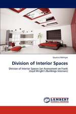 Division of Interior Spaces