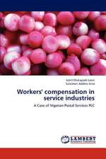Workers' compensation in service industries