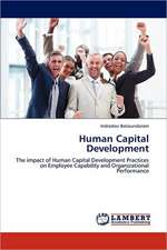 Human Capital Development