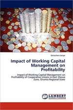 Impact of Working Capital Management on  Profitability