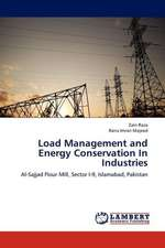 Load Management and Energy Conservation In Industries