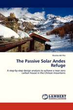 The Passive Solar Andes Refuge