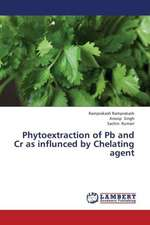 Phytoextraction of Pb and Cr as influnced by Chelating agent