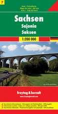 Deutschland 07 Sachsen 1 : 200 000