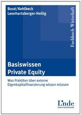 Basiswissen Private Equity