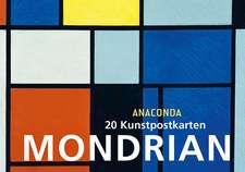 Colecție de cărți poștale Piet Mondrian