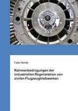 Rahmenbedingungen der industriellen Regeneration von zivilen Flugzeugtriebwerken