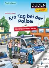 Duden Leseprofi - Mit Bildern lesen lernen: Ein Tag bei der Polizei, Erstes Lesen