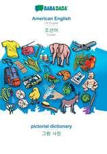 BABADADA, American English - Korean (in Hangul script), pictorial dictionary - visual dictionary (in Hangul script)