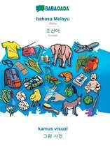 BABADADA, bahasa Melayu - Korean (in Hangul script), kamus visual - visual dictionary (in Hangul script)