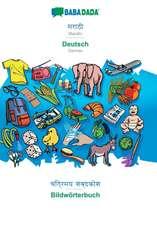 BABADADA, Marathi (in devanagari script) - Deutsch, visual dictionary (in devanagari script) - Bildwörterbuch